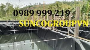 Thi Công Bãi Rác Bằng Màng Chống Thấm Hdpe 0.8mm suncogroupvn