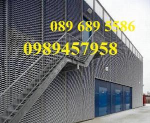 Sản xuất lưới hình thoi 3ly, 4ly, lưới trang trí, lưới làm cầu thang XG20, XG21