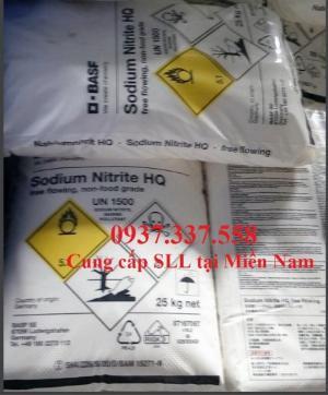 Bán Sodium Nitrite NaNO2 0937.337.558 tại Đồng Nai, Bình Dương, Hồ Chí Minh, Vũng Tàu.