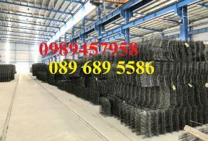 Sản xuất lưới thép hàn phi 8 ô 150x150, 200x200 - Lưới D8 gân 200*200