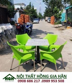Ghế nhựa cafe sân vườn HGH02