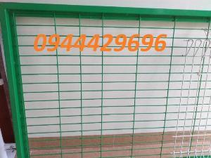 Hàng rào thép sơn tĩnh điện giá rẻ