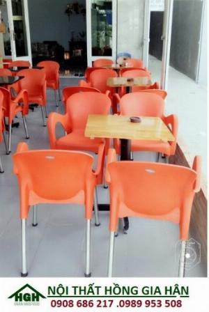Bàn ghế nhựa sân vườn giá rẻ nhất HGH8