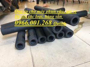 Ống cao su bơm vữa trát tường , ống ép dùng cho máy phun vữa dài 90cm, 1 mét , 1,5 mét