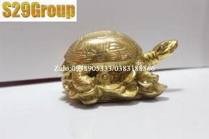 Tượng rùa bằng đồng phong thủy