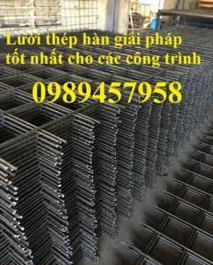 Lưới thép tấm Phi 4, phi 5, phi 6, phi 8 lưới thép đổ sàn 200x200