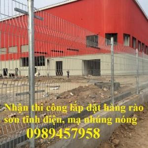 Hàng rào thép, vách rào ngăn kho, hàng rào ngăn xưởng