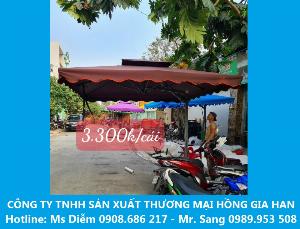 Sale Off Dù Vuông Lệch Tâm Che Mưa Nắng