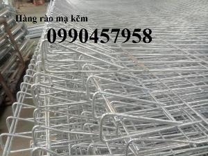 2021-04-12 18:08:57  3  Hàng rào mạ kẽm nhúng nóng phi 5 ô 50x150, 50x200, 50x50 giá tốt 36,000