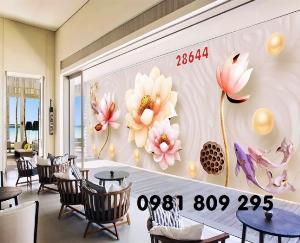 2021-04-13 08:50:20  1  Tranh gạch - hoa sen 3d - tranh ốp tường 1,200,000