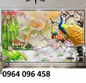 2021-04-13 08:55:23  5  Tranh 3d - tranh gạch 3d phòng khách - phòng ngủ 1,200,000