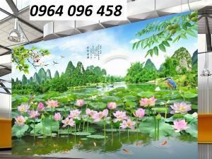 Tranh phong cảnh - tranh gạch phong cảnh 3d - 73SKK