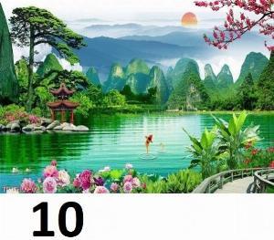 2021-04-13 08:56:26  9  Tranh phong cảnh - tranh gạch phong cảnh 3d - 73SKK 1,200,000