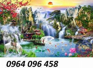 2021-04-13 08:56:26  5  Tranh phong cảnh - tranh gạch phong cảnh 3d - 73SKK 1,200,000