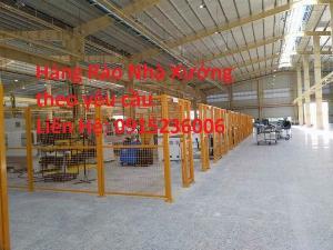 2021-04-13 09:28:42  1  Hàng rào ngăn kho, hàng rào ngăn xưởng phi 4, phi 5, phi 6 làm theo yêu cầu 34,500
