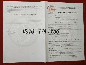 Bán mẫu hs02-vc/bnv theo thông tư 07/2019/tt-bnv