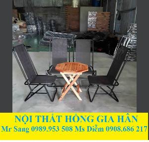 Bộ Bàn Ghế Cafe Cóc Giá Siêu Rẻ HGH