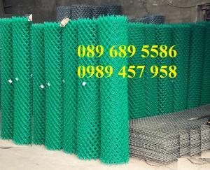 Lưới hàng rào b40 bọc nhựa, lưới thép bọc nhựa ô 10x10, 20x20, 30x30, 50x50