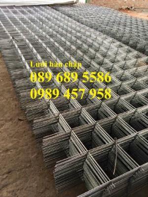 Xưởng sản xuất lưới thép hàn chập phi 6 ô 50x50, 100x100, Lưới thép hàn phi 6 ô 200x200