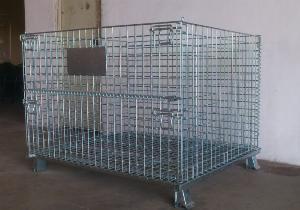 Lồng trữ hàng container, lồng thép, lồng thép xi mạ, lồng sắt, Stocky 1200X1000X900