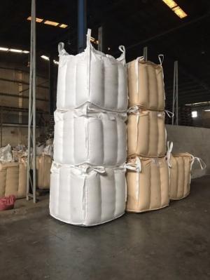Bao Jumbo đựng hàng xuất khẩu lưu kho.