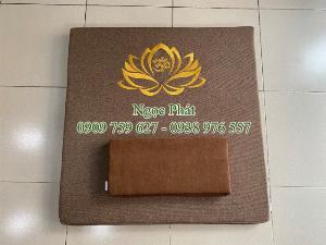 Nệm Ngồi 70x70cm Tọa Cụ Quỳ Lạy - Nệm Ngồi Thiền Định Yoga Ấn Độ