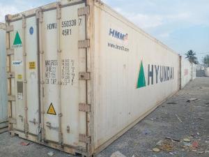Container lạnh 40 lạnh Huyndai của Hàn Quốc