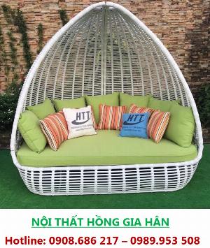 Giường Tắm Nắng Thư Giãn Mây Nhựa Giá Rẻ Tp.HCM