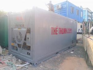 Container lạnh âm 28 độ
