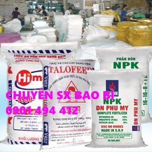 Bao PP dệt đựng phân bón, lúa gạo, cà phê, nông sản