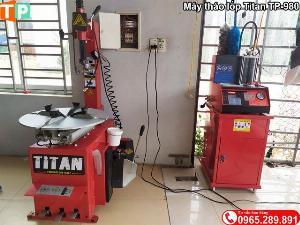 Máy ra vào lốp xe máy Titan TP-980