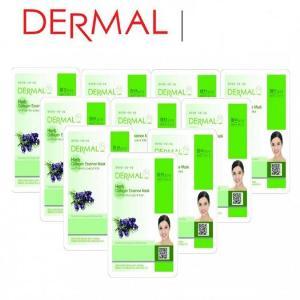Mặt Nạ Dermal Tinh Chất Thảo Mộc Ngăn Ngừa Lão Hóa Da Herb Collagen Essence Mask 23g - 10 Miếng