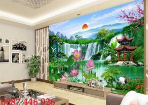 Gạch tranh dán tường đẹp 3d HP52901