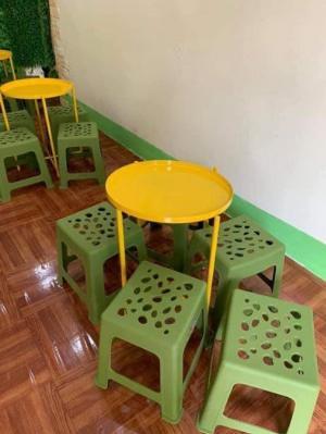 Bộ bàn ghế quán vỉa hè Ak006