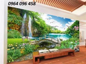 Gạch tranh 3d trang trí nhà cửa - BN55