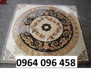 Gạch thảm 3d lát nền phòng khách - SCC4