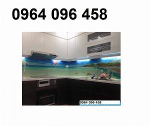 Kính ốp bếp - kính cường lực ốp bếp - VD33