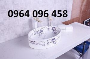 Chậu lavabo dương bàn đá cao cấp - DK66