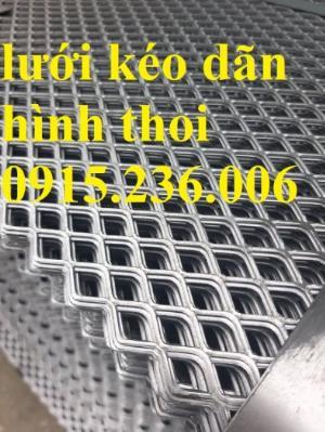 Lưới kéo dãn hình thoi, lưới mắt cáo, lưới dập dãn cán phẳng giá rẻ