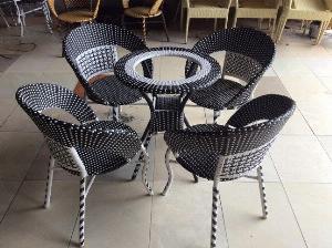 Bộ bàn ghế cafe cao cấp giá rẻ tại xưỡng AK002