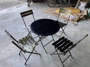 Ghế xếp giá rẻ bàn ghế cafe vỉa hè
