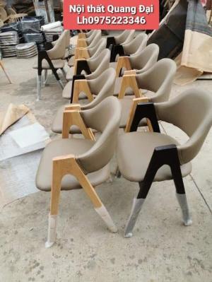 Ghế chữ A gỗ tự nhiên bọc nệm sản xuất bán giá tại xưởng..