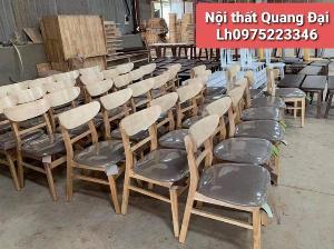 Ghế gỗ Mangô bọc nệm...