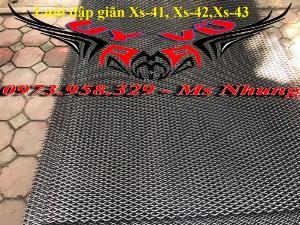 Lưới hình thoi - lưới chám - lưới dập giãn dây 1 (10*20),1.5 (15*30),2 ( 20*40),3(30*60) ,( 45*90) , làm trang chí , sàn thao tác