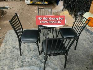 Chuyên cung cấp bàn ghế sắt sơn tỉnh điện...