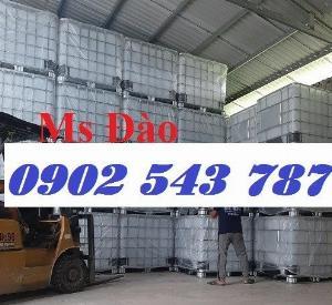 Thanh lý thùng nhựa IBC giả phóng kho tại Sài Gòn