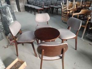 Bộ bàn ghế gỗ bọc nệm...
