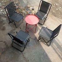 Bàn ghế xếp inox, sắt  lưng tựa cao và thấp giá sỉ.