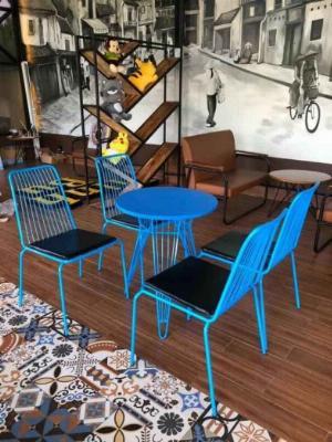 Ghế cafe ghế sắt sơn tĩnh điện Xưởng Chuyên Bàn Ghế Cafe  Nội Thất Mai Nguyễn