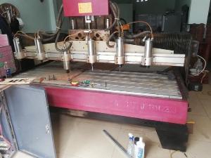 Mua máy cnc1325, máy đục gỗ cũ đã qua sử dụng giá cao tại Long An, Bình Dương